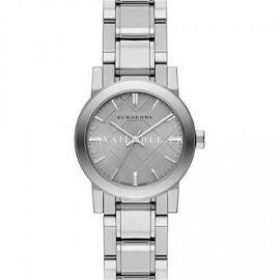 Burberry Small Check Stamped Bracelet Watch BU9229