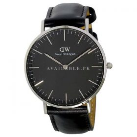 Daniel Wellington Unisex Black Stainless steeDaniel Wellington Unisex Black Stainless steel Watch DW00100145l Watch DW00100145