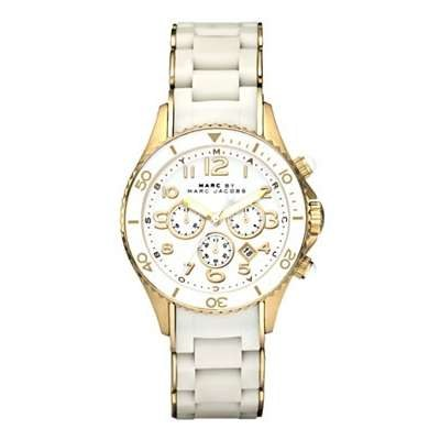 Marc Jacobs Women's Quartz Stainless Steel Silicone Watch MBM2546
