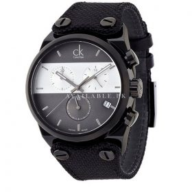 Calvin Klein Men's Quartz Watch Stainless Steel Black K4B384B3