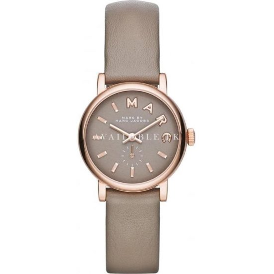 MARC JACOBS WOMEN'S LEATHER BAND STEEL WATCH MBM1318