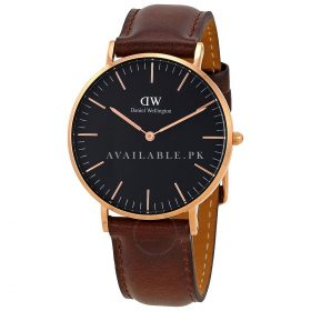 Daniel Wellington Leather Daniel Wellington Unisex Watch DW00100137