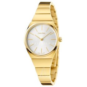 Calvin Klein K6C23546 Ladies Supreme Yellow Gold Plated Watch