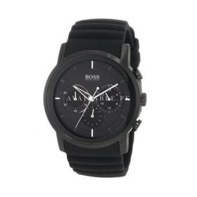 HUGO BOSS Men's Band Color Black Quartz Watches 1512639
