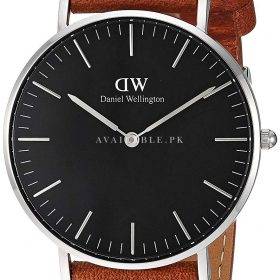 Daniel Wellington Classic Analog Black Dial Women's Watch-DW00100144