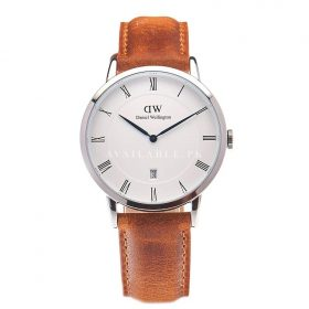 Daniel Wellington Dapper Analog White Dial Men's Watch-DW00100116