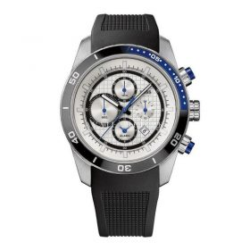 Hugo Boss 1512660 Rubber Strap Round Chronograph Men's Watch