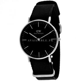 Daniel Wellington Classic stationary Black Dial Unisex Watch DW00100151
