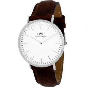 Daniel Wellington Analog White Dial Women's Watch-DW00100056