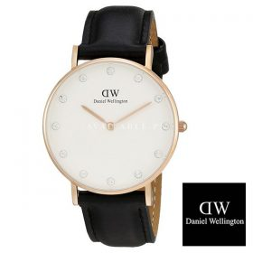 Daniel Wellington SHEFFIELD Stainless Steel Black Dial DW00100076