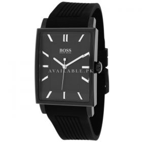 Hugo Boss Men's 1512953 Black Rubber Quartz WatchHugo Boss Men's 1512953 Black Rubber Quartz Watch