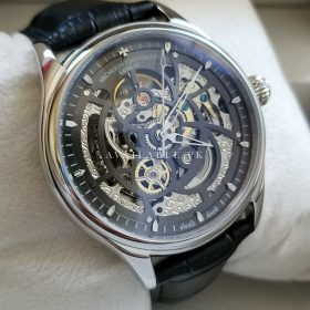 Vacheron Constantin Black & Silver Skeleton His Watch Price In Pakistan