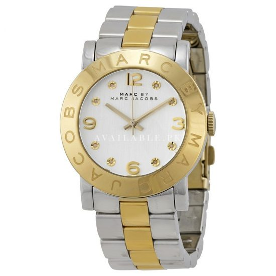 Marc Jacobs Women's MBM3139 Amy Rose-Tone Stainless Steel Watch