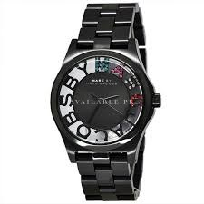 Marc by Marc Jacobs MBM3265 Skeleton Black Ladies Watch