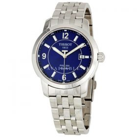 Tissot Men's T0144101104700 Stainless Steel Blue Dial Watch
