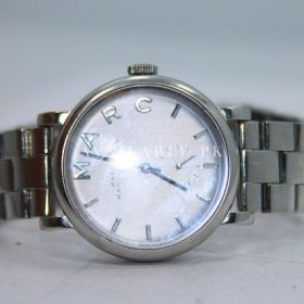 Womens Marc Jacobs mbm8630 Stainless Steel Baker Watch New Battery