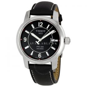Tissot Men's T0144101605700 PRC 200 Black Dial Watch