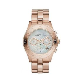 Marc Jacobs MBM8637 Women's Blade Rose Gold Tone Stainless Steel