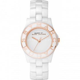 Marc By Marc Jacobs MBM9502 White Ceramic Bracelet Ladies' Watch