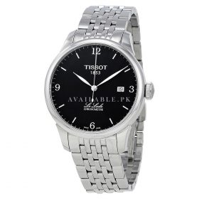 Tissot Mens Chronometre Black Dial Mens Watch T006.408.11.057.00