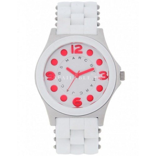 Marc Jacobs Women's White Round Watch MBM2588