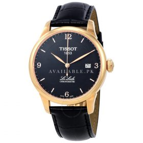 Tissot Le Locle Automatic Black PVD Mens Watch T0064083605700