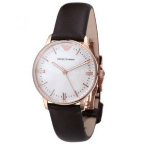 Emporio Armani Ar1601 Brown Belt Men's Watch Price In Pakistan
