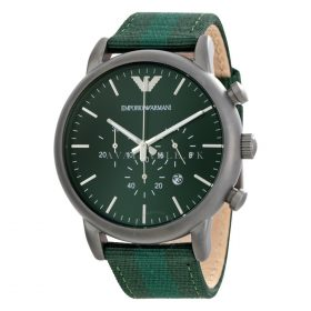 Armani Ar1950 Luigi Green Dial Mens Watch Price In Pakistan