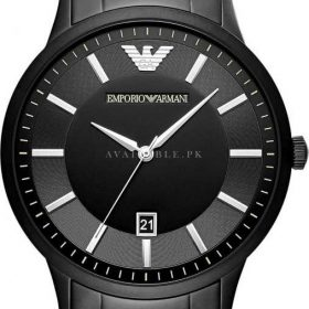Emporio Armani AR11079 Matt Black Mens Watch Price In Pakistan
