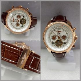 Breitling Rose Gold Automatic Chronograph Men Watch Price In Pakistan