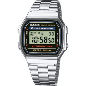 Casio Standard A168WA-1WDF- For Men