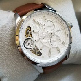 Buy Original Fossil ME1099 Twist Silver White Men Watch Price In Pakistan