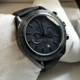 Omega SpeedMaster Tachymeter All Black Men Watch Price In Pakistan