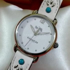 Coach Maddy Classic All White Women's Watch Price In Pakistan