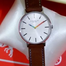 Coach Maddy Classic White Brown Women's Watch Price In Pakistan