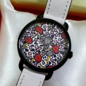 Coach Maddy Floral White Women's Watch Price In Pakistan