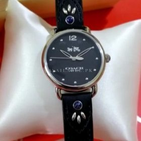 Coach Maddy All Black Women's Watch Price In Pakistan