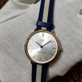 Tommy Hillfiger Classic Blue White Strap Women Watch Price In Pakistan