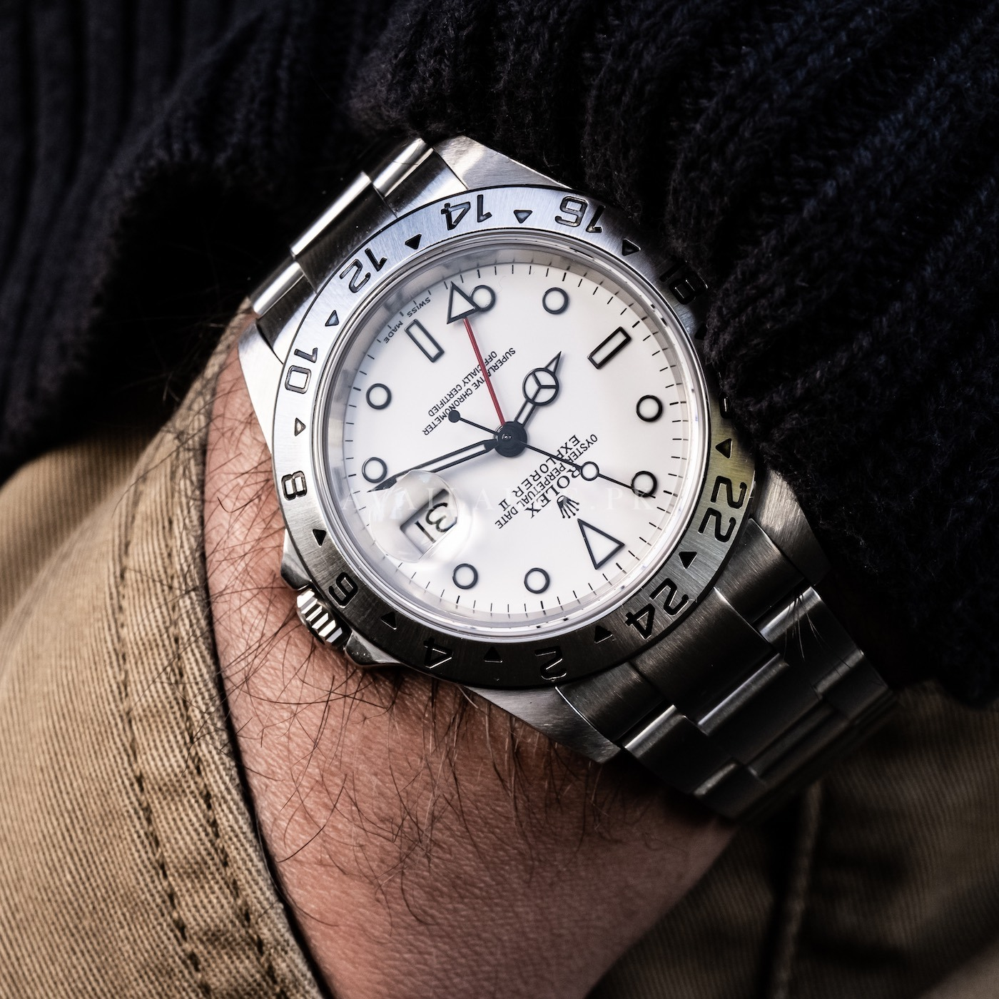No Longer Made: Rolex Explorer II 16570 Watch