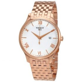 Tissot Tradition Rose Gold PVD Mens Watch T063.610.33.038.00 Price In Pakistan