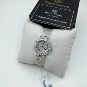 Royal Crown Real Zarkoon Stones Women Watch Price In Pakistan