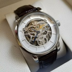 Jaeger LeCoultre White Master Squelette Skeleton Automatic Mens Watch Price In Pakistan