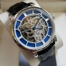 Jaeger LeCoultre Master Squelette Blue Skeleton Automatic Mens Watch Price In Pakistan