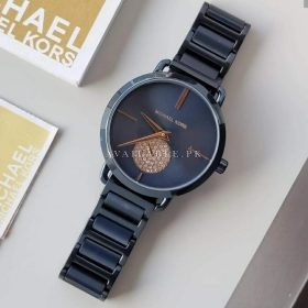 Michael Kors All Blue With Stoned Down Second Women Watch Price in Pakistan
