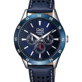 Q&Q CE02J502Y Blue Chronograph Mens Watch Price in Pakistan