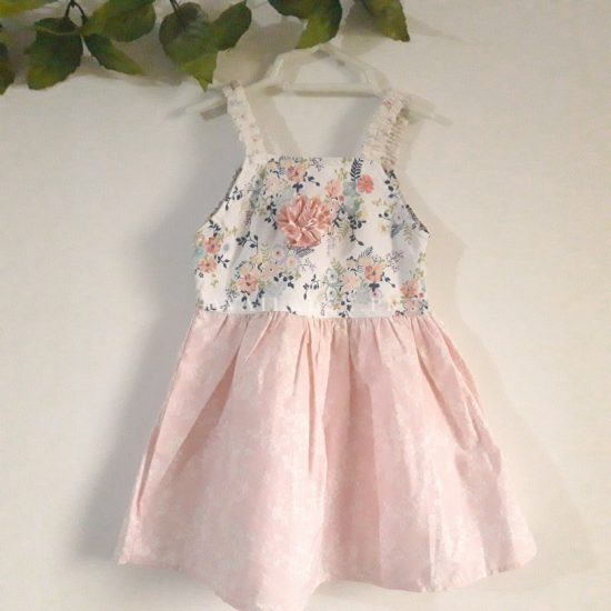 Baby Girl Frocks Cotton Fabric With Bow Upto 2 Years (Pack Of 3)