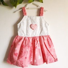 Baby Girl Frocks Cotton Fabric With Bow Upto 1 Years (Pack Of 3) Price in Pakistan