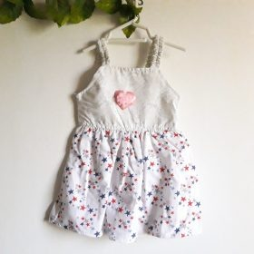 Baby Girl Frocks Cotton Fabric With Bow Upto 2 Years (Pack Of 3) Price in Pakistan