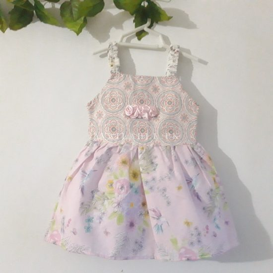 Baby Girls Frock Designs 4 in 1 Cotton Upto 3 Years Price in Pakistan