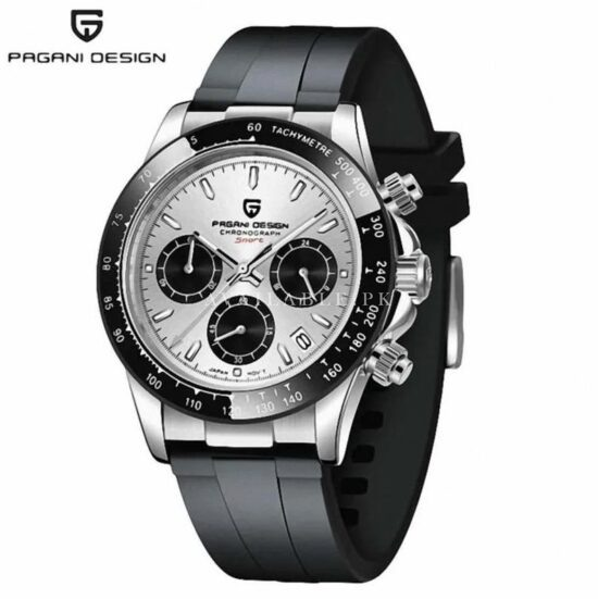 Pagani Design PD-1664 Rubber Strap Men Watch Price in Pakistan